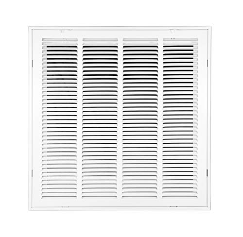 Venti Air 20' X 20' Steel Return Air Filter Grille - Free 2-3 Business Day Delivery [Outer Dimension: 22.5'W X 22.5' H]