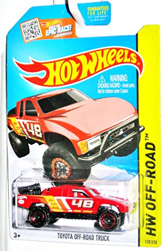 Hot Wheels, 2015 HW Off-Road, Toyota Off-Road Truck [Red] 120/250