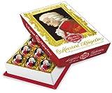 Feinste Reber Mozart-Kugel, in der 15er Barock-Packung, 300g, in Zartbitter-Chocolade,frei von künstlichen Konservierungsstoffen, frei von Farbstoffen,frei von Palmfett