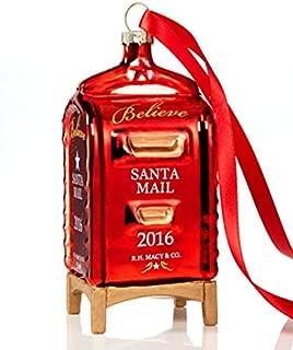 Yes Virginia Mailbox Christmas Ornament