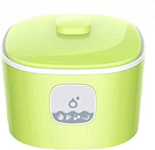 WGNHM Small Computer Intelligent Yogurt Machine for Household Use, Glass Liner, One Machine for Multiple Uses (Color : Green)