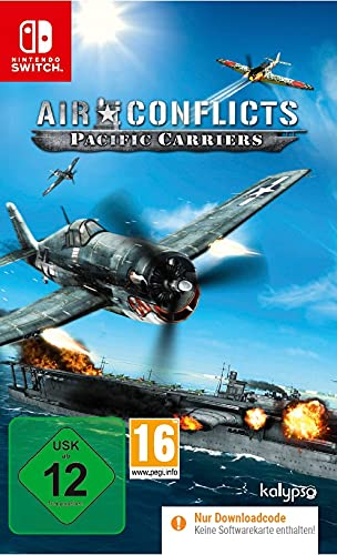 AIR CONFLICTS - Pacific Carriers - Flug Simulation - Nintendo Switch