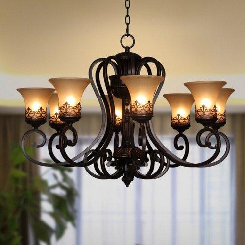 LightInTheBox Vintage Amercian Rustic Wooden Pendant Wine Barrel Chandelier Lamp Liviing and Bedroom Lamp Ceiling Lights 02526097