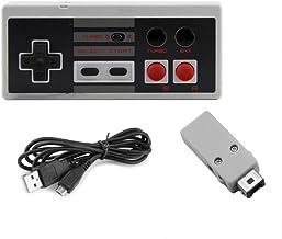 OSTENT Manette de jeu sans fil rechargeable Gamepad pour Nintendo NES Mini Classic Edition Famicom Mini Console