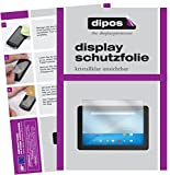 dipos I 2X Schutzfolie klar kompatibel mit 17.3 Zoll Wide 383 x 215 mm Folie Bildschirmschutzfolie
