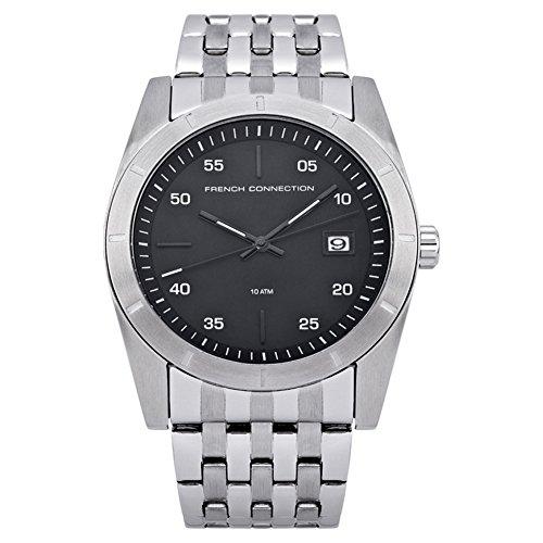 French Connection FC1159BM - Reloj de Cuarzo, Correa de Acero Inoxidable