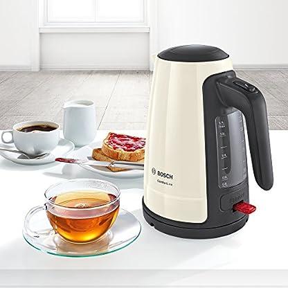 Bosch-TWK6A017-ComfortLine-kabelloser-Wasserkocher-1-Tassen-Funktion-grosse-Oeffnung-Ueberhitzungsschutz-entnehmbarer-Kalkfilter-17-L-2400-W-creme