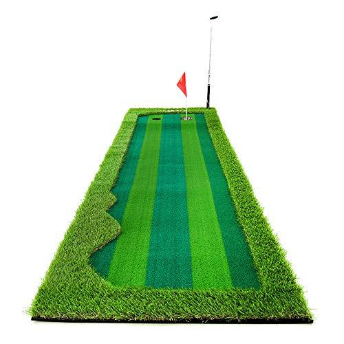 Alfombras De Putting Portátil Golf Para Interiores Exteriores Green Green Putting System...