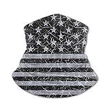 Arehji Masque bandana lavable pour enfant Motif drapeau américain