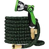 Best Coiled Garden Hoses - GreenFriendlyHome Garden Hose Expandable Hose - Flexible Water Review