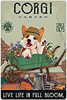 RCY-T 金属錫サイン Funny Dog Vintage Retro Sign Poster Bar Style Novelty Wall Art 8x12 inch-Sign2-12x8 inch