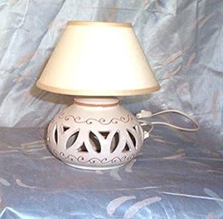LAMPADA DA COMODINO IN CERAMICA
