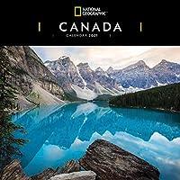 カナダ ナショナルジオグラフィック スクエア 壁掛けカレンダー 2021