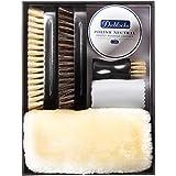 [DABLOCKS] 靴磨きセット 馬毛、豚毛ブラシ付き かんたんお手入れ