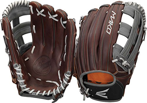 """Easton Mako Legacy Series Outfield Pattern Gloves, 12.75"""", Left Hand Throw"""