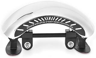 مرآة الرؤية الخلفية 180 زاوية فائقة الاتساع مرآة مركزية متوافقة مع الدراجات البخارية البخارية