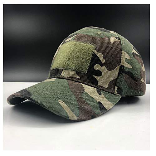 Xuguiping 2019men Wome Army Camouflage Cap Baseball Cap Casket Hut Wandern Baseball Cap Jagd Angeln Wüstenhut Army Grün 56-60 cm