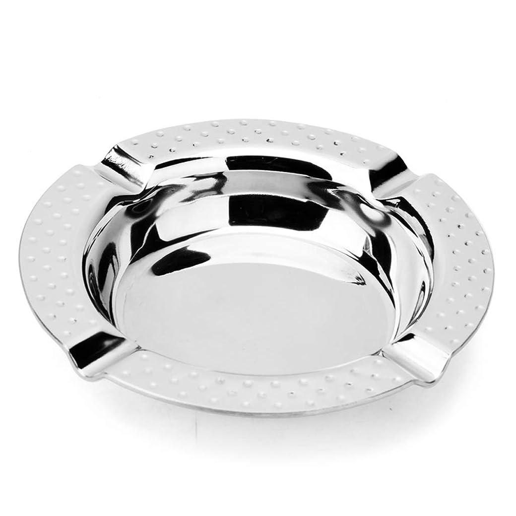 ちょっと待ってシングル広げる灰皿厚いステンレス鋼ハンマーポイント灰皿クリエイティブ人格リビングルームオフィスバースモークネットバーファッションステンレス鋼灰皿 QYSZYG