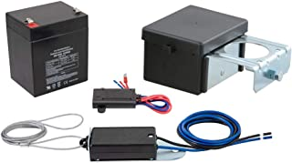 CURT 52028 Soft-Trac 2 Trailer Breakaway Switch Kit System with Battery and Charger