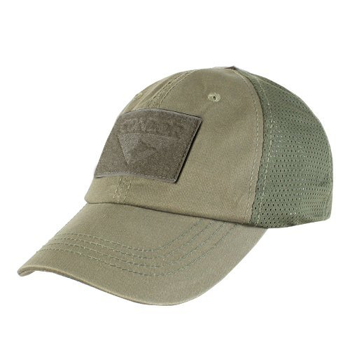 Condor Mesh Tactical Cap (Olive Drab, One Size Fits All)