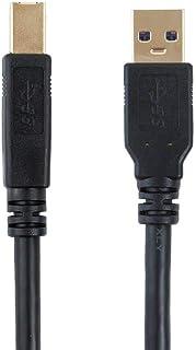 اختر سلسلة USB 3.0 A إلى B كابل، كانون، لكسمارك، إبسون ، ديل ، زيروكس ، سامسونج إلخ 1.5 Feet 113746