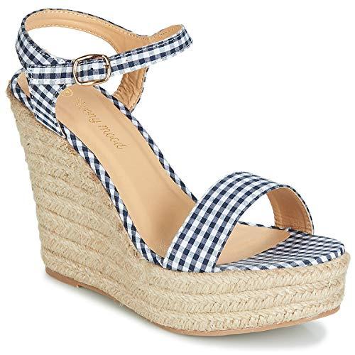 moony mood Ipala Sandali Donne Blu - 40 - Sandali Shoes