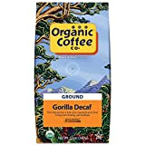 The Organic Coffee Co., Gorilla DECAF- Ground (12 oz.) Swiss Water Process- Decafeinated, USDA Organic