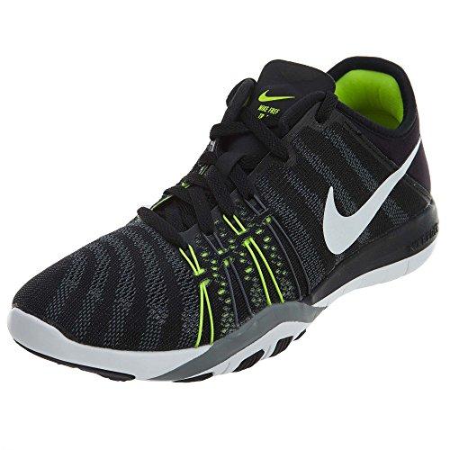 Nike Wmns Nike Free Tr 6 - Schwarz / Weiß-Volt-Cool Grey,38.5 EU