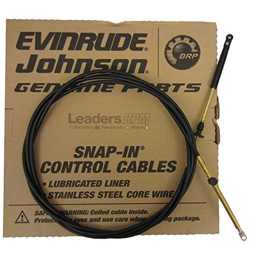 Johnson/Evinrude/OMC New OEM 20' Throttle/Shift Control Cable 173120; 0173120