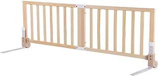 XIAOMEI,ベッドフェンス 子供用木製ベッドレール木製ベッドレール木製ベッドガード木製フェンスペットガードレール 家庭、屋外で使用されます (サイズ さいず : 150cm)