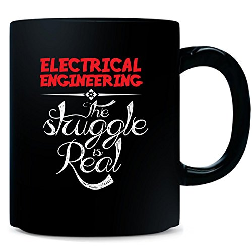 Electrical Engineering The Struggle Is Real Bright Red Color - Mug