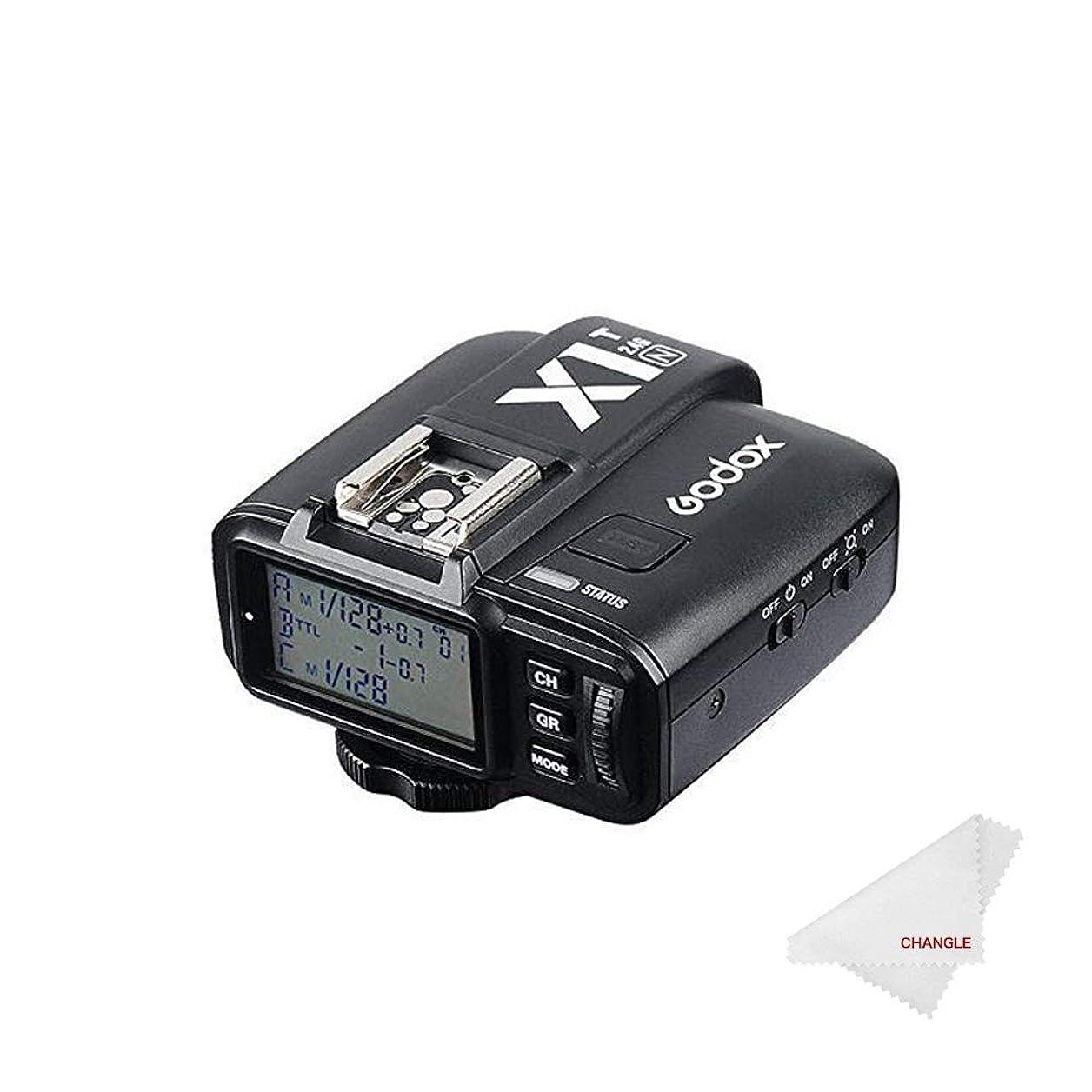 花瓶考古学者限りなく【Changle】Godox X1T-C TTL Wireless Remote Flash Trigger for Canon ワイヤレスカメラリモコントリガー キャノン対応 無線遠隔制御フラッシュトランスミッタ