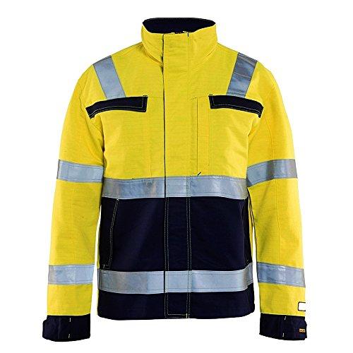 Blakläder 408715143389XL Multinorm Jacke Größe in gelb/marineblau, XL