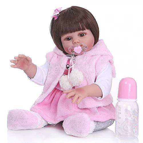 Boneca Bebê Reborn silicone 48 Cm