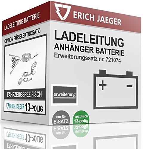 Erich Jaeger Option Ladeleitung Batterie Für E-Satz 13-polig Fahrzeugspezifisch