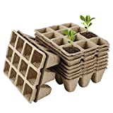 <span class='highlight'>Your</span>'s <span class='highlight'>Bath</span> 17 Pcs Seed Starter Trays Plant Seeds Propagation Nursery Pot Biodegradable Seedling Germination Trays for Garden,Vegetable,Fruit,Nursery,Seed (17pcs)