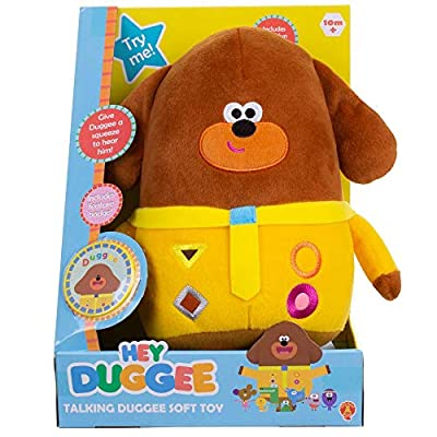 Hey Duggee Talking Soft Toy by Golden Bear Products Ltd