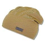 Sterntaler Unisex Baby Slouch 1512100 Beanie-Mütze, Gelb, 47