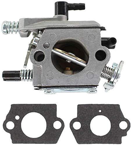 SYCEZHIJIA Piezas de Repuesto para cortacésped Carburador con Junta Adecuada para Plantiflex PF-5200 Matrix MCS46-45, SPS01-45 Steel S440 Motosierra