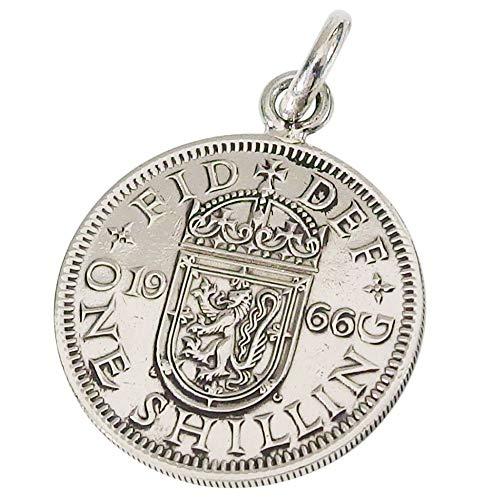 本物のスコットランドのコインペンダント(1) コイン 硬貨 アクセサリー メンズ レディース 海外