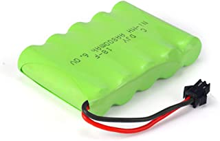 DOUBLE E 6V 800mAH Rechargeable Battery with USB Charger Cable for DOUBLE E RC Vehicle Car Truck Crawler