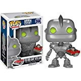 Funko Pop Movies : The Iron Giant with Car 4inch Vinyl Gift for Robot Movie Fans SuperCollection