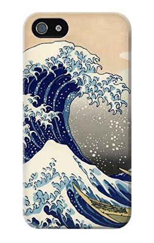 Katsushika Hokusai The Great Wave off Kanagawa Case Cover Custodia per IPHONE 5 5S SE