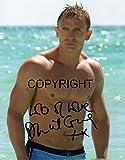 Limited Edition Daniel Craig James Bond unterzeichnet Foto