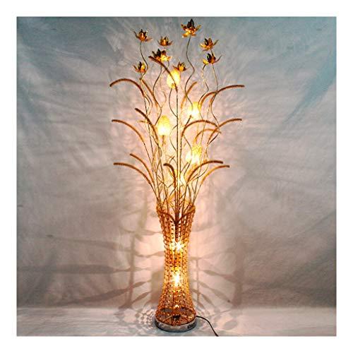 ZGP-LED Luces de piso Personalidad piso decoración de la lámpara del arte creativo de la manera tejida sala de estar de estilo europeo dormitorio de la lámpara LED de la lámpara de piso Decoración Niv
