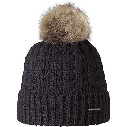 Barts Damen Baskenmütze Filippa Schwarz (Nero), One size (Herstellergröße: Unica)