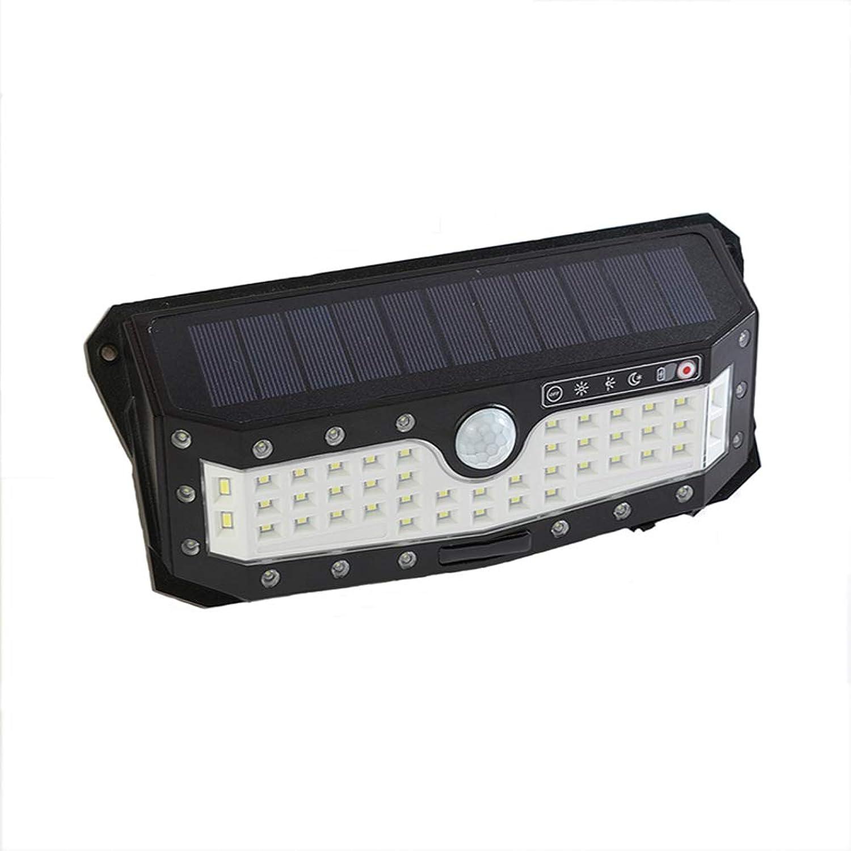 FENGPU Solarlampe Auenbeleuchtung 79LED 4 Modi mit Bewegungsmelder Solar Beleuchtung Wasserdichte Garten Hof Garage Wnde Solarleuchten LED Auenbeleuchtung
