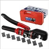 IBOSAD 手動油圧圧着工具4-70mm² ハイドロプライヤー 油圧ペンチ 銅 アルミ端子
