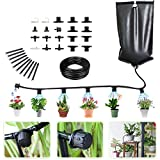 Garden Irrigation System Indoor Automatic Plant Irrigation System Hose Kit - Water Drip Sy...