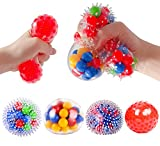 Stress Balls for Kids - 4 Pack Fidget Sensory Toy for Kids and Adults